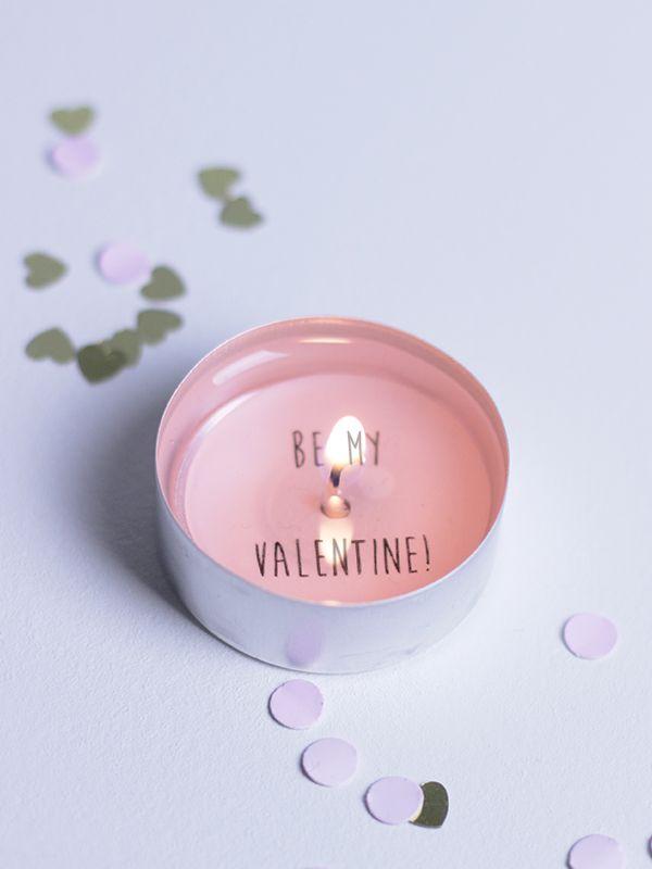 Valentine's Day Secret Messages DIY Valentijnsdag Valentine Valentinstag ♥