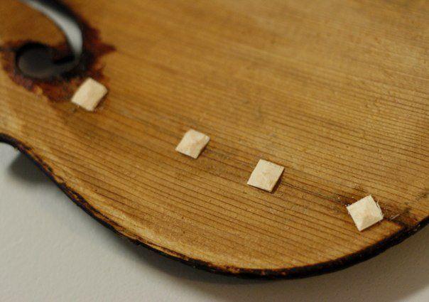 violin repair cleats