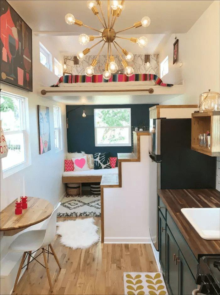 Interior design ideas from tiny house Orlando Florida