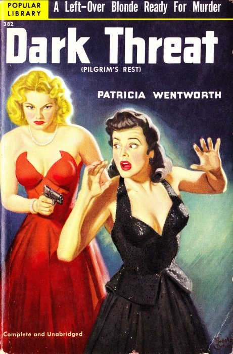 Popular Library, 1951. Cover art by Rudolph Belarski.