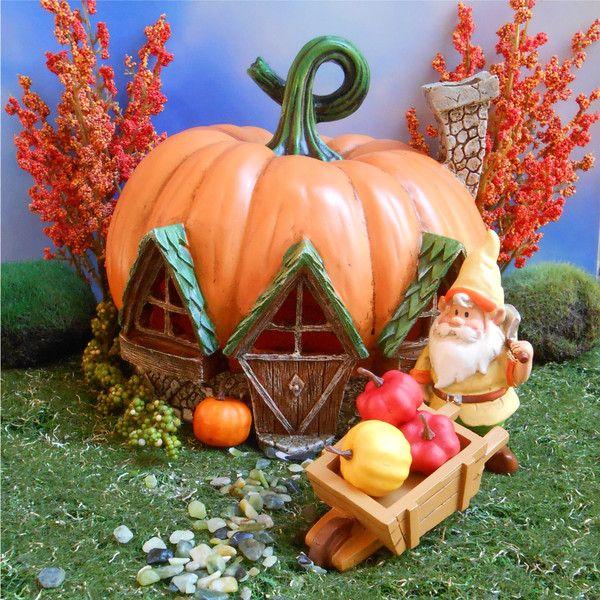 Fall Fairy Garden
