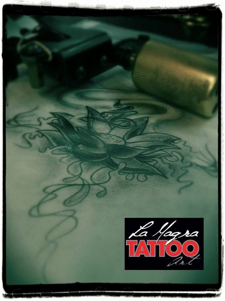 #lotus #tattoo #sketch