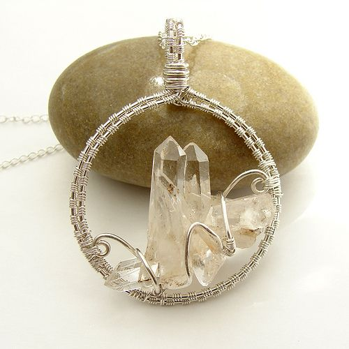 Crystal Castle Necklace - This. is. awesome.