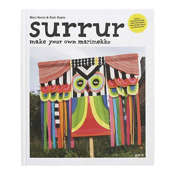 Marimekko projects: Surrur Books, Books Surrur, Marimekko Surrur, Pattern, Oma Marimekkosi, Clever Ideas, Mary Savio, New Books, Marimekko Books