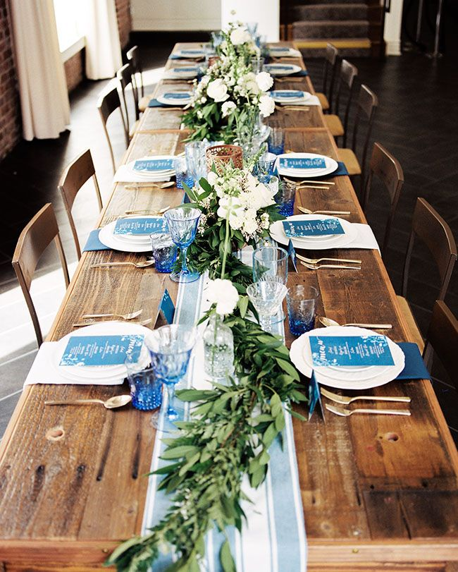 Industrial, Blue-Hued Wedding Inspiration at The Estate on Second | Green Wedding Shoes Wedding Blog | Wedding Trends for Stylish + Creative Brides