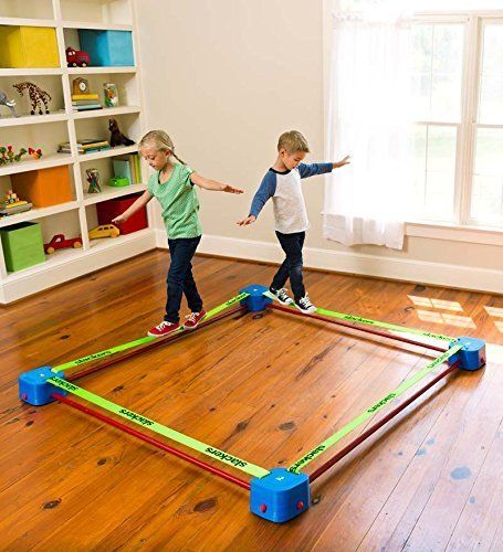 Playzone Fit Balance Blox Slackline Quad Toy Summer Toys