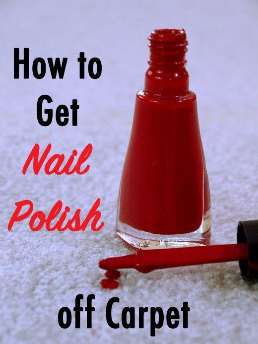 How To Get Nail Polish Out Of Carpet Remove Nail Polish