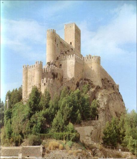 Castillo de Almansa Albacete Spain.