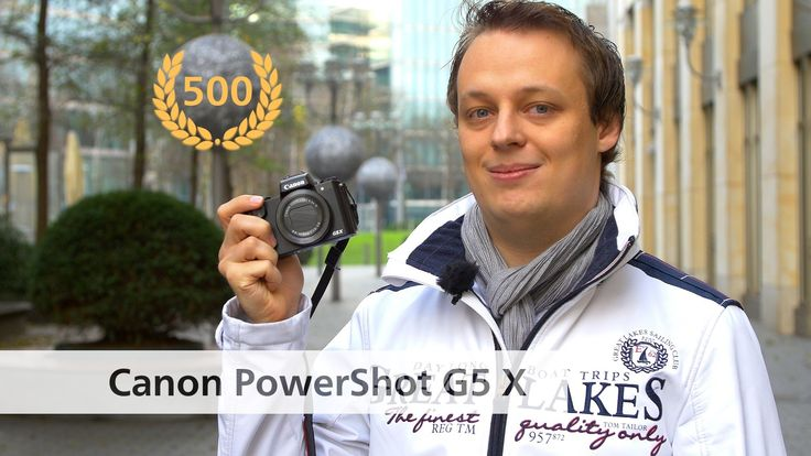 awesome Canon PowerShot G5 X - Edel-Kompaktkamera im Test