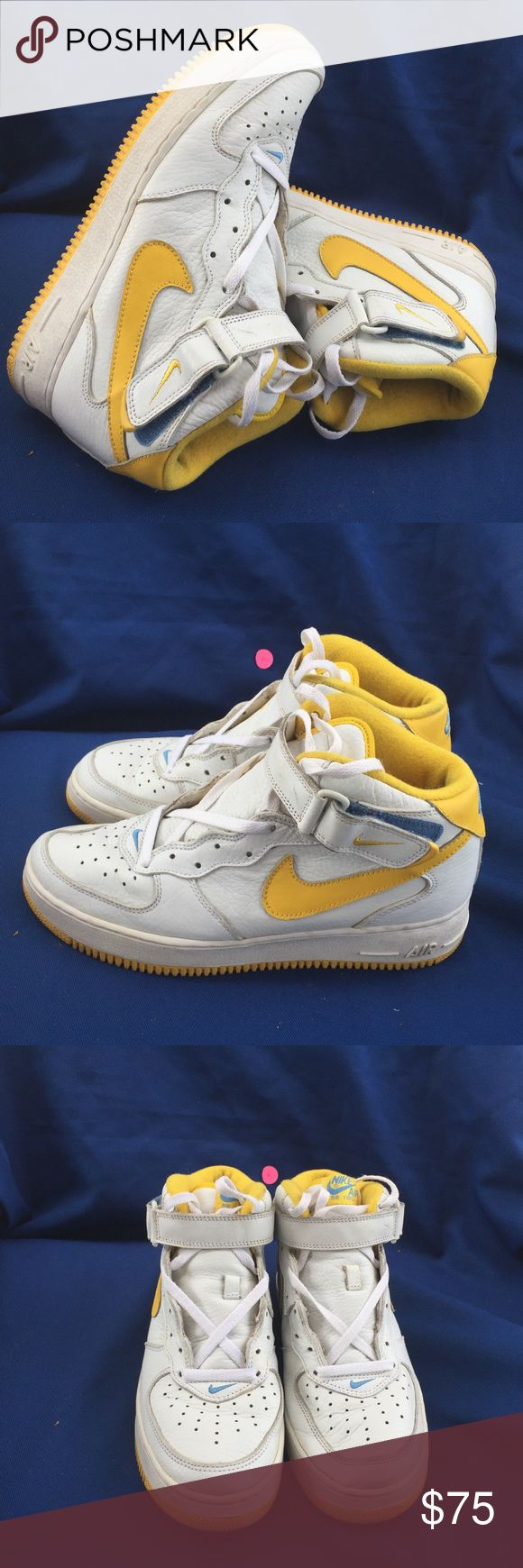 Nike Air Force one Mid SC size 10 Gently used Nike Shoes Sneakers