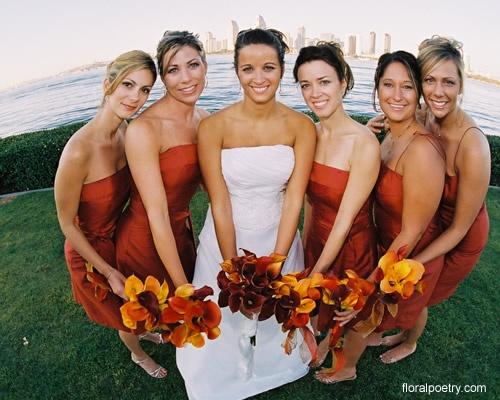 25  best ideas about Burnt orange bridesmaid dresses on Pinterest ...