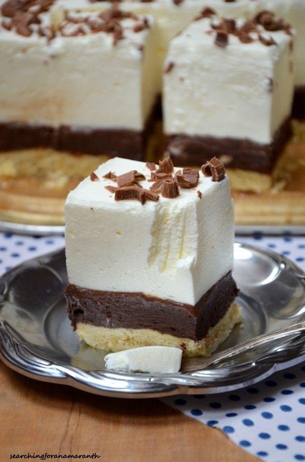 Pianka śmietankowo-czekoladowa