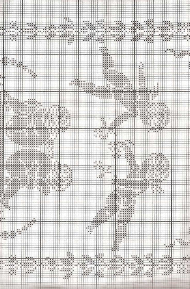 Oltre 25 fantastiche idee su schemi uncinetto gratis su for Ricamo schemi gratis