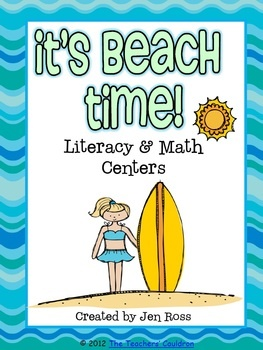 Simply Learning Centers: Beach Time centers!