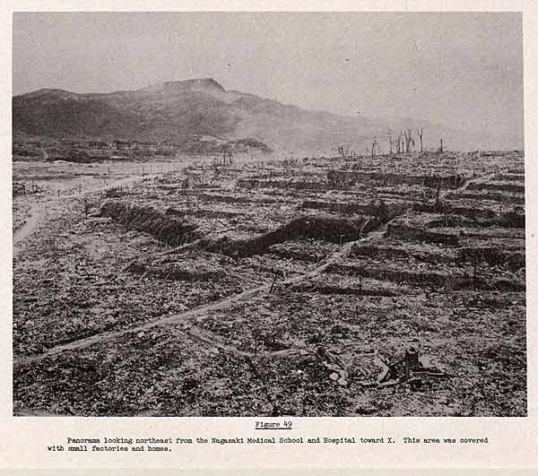 """the atomic bombings were necessary Historicaltimes: """"the ruins of urakami cathedral, located 2 miles from the atomic blast over nagasaki, photographed september 1945 """" find this pin and more on were the atomic bombings really necessary by hannah goulette."""