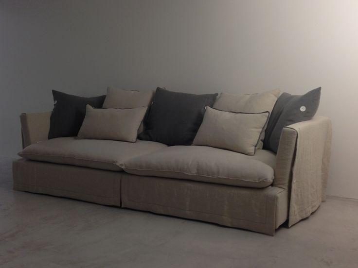Καναπές Casa di Patsi με λινό ύφασμα Casa Di Patsi - Έπιπλα και Ιδέες Διακόσμησης - Home Design | ΕΠΙΠΛΑ