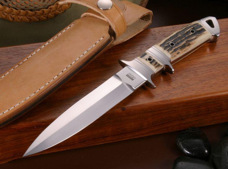 Dietmar Kressler Exclusive Sub-Hilt Dagger Stag Integral Knife