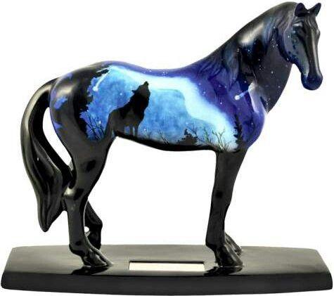 Ceramic Clydesdale Horse Figurine Ceramic Horse Figurine