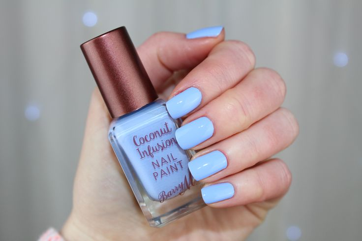Barry M Coconut Infusion Nail Paint in Laguna