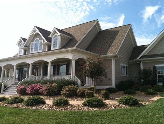 Front Exterior Detail Of The Hollyhock Color Scheme And Windows Lovely Houses Pinterest
