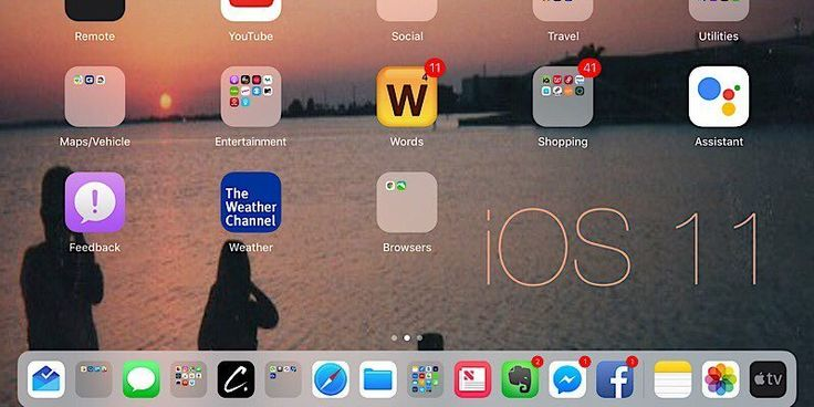 Working with iOS 11 – It's Like a Completely New iPad! #ios #apple  https://www.maketecheasier.com/working-with-ios-11/