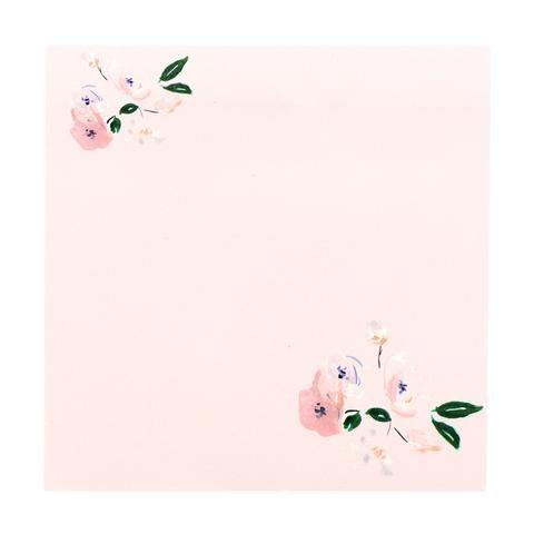 Flower sticky notes by NUNUCO® #notepad #nunucodesign