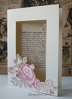 Card with a window by Jacqueline.fr, via Flickr