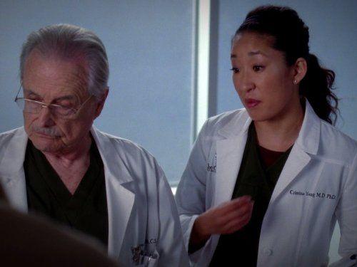 William Daniels and Sandra Oh, Grey's  Anatomy, 2005 - IMDb