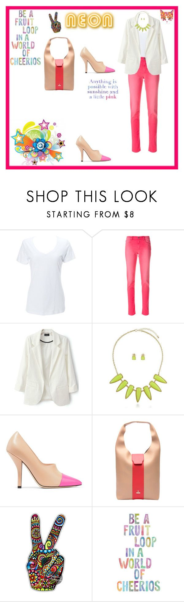 """N E O N"" by leah-baritone ❤ liked on Polyvore featuring Simplex Apparel, Alyx, BERRICLE, Fendi, Lilly Pulitzer, neon, jeans and fashionset"