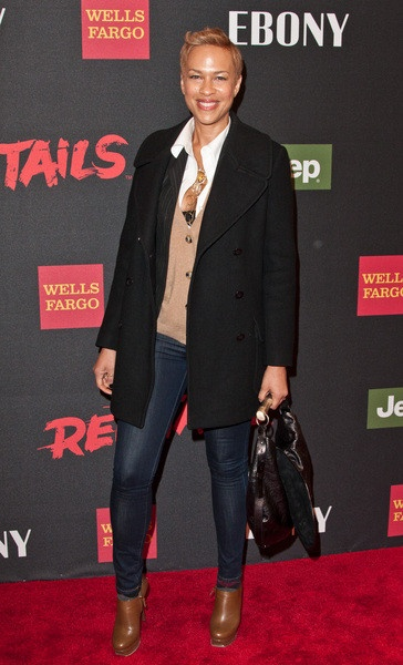 Tonya Lewis Lee - 'Red Tails' New York City Premiere ...