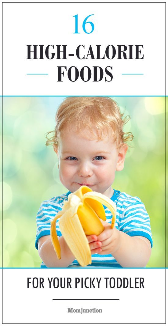 High fat foods for toddlers