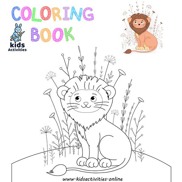 - Free Animal Coloring Pages Kindergarten Pdf - Kids Activities In 2020  Childrens Colouring Book, Coloring Books, Kids Coloring Books