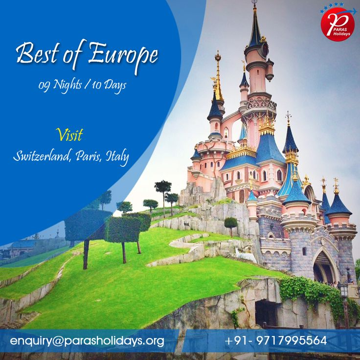 Best Europe Holiday Tour Packages Images On Pinterest Delhi - Europe tours packages