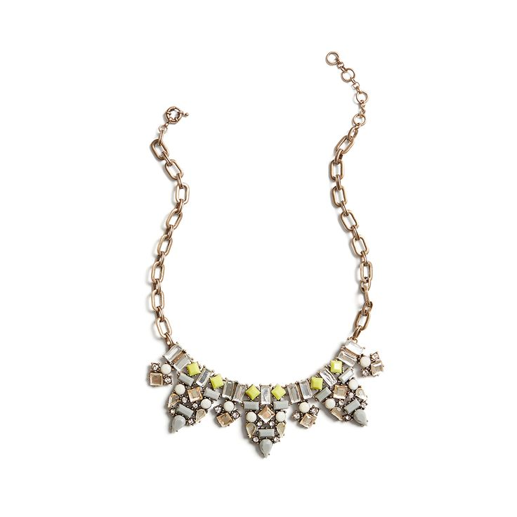 Dress up a graphic tee with some statement sparkle. Stitch Fix | Emerson Gemstone Necklace