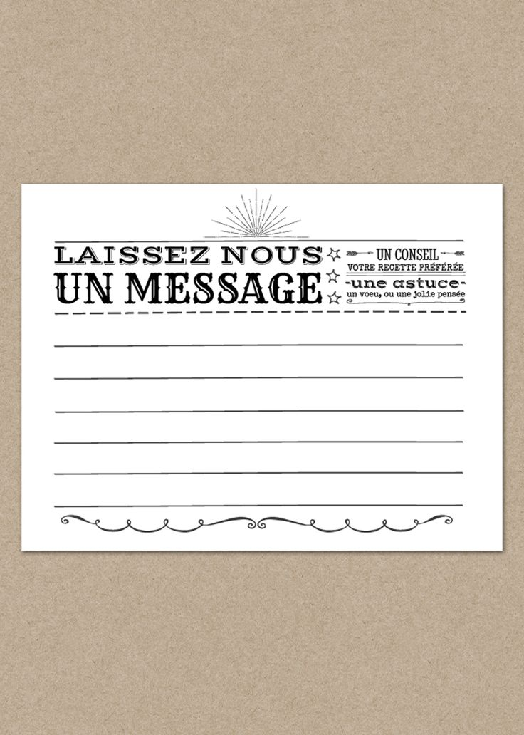 Carte livre d'or Rétro Forever | Made in You - Le ShopMade in You - Le Shop. Format : 10,5cm x 8cm