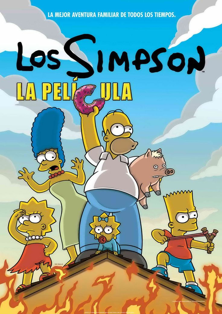 2007 - Los Simpson la pelí­cula - The Simpsons Movie