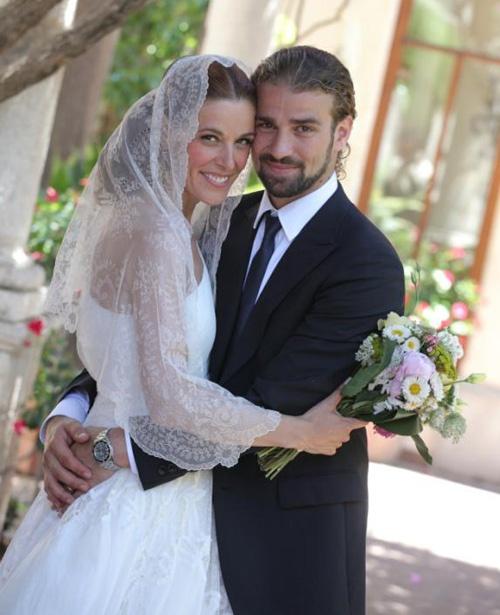Raquel Sánchez Silva se casa con Mario Biondo en Sicilia #wedding #brides #television #couples