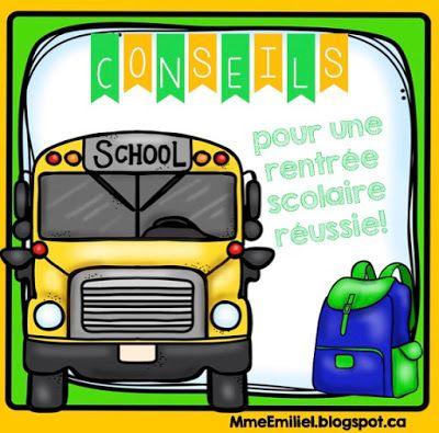 Mme Émilie: Les premiers jours d'école....