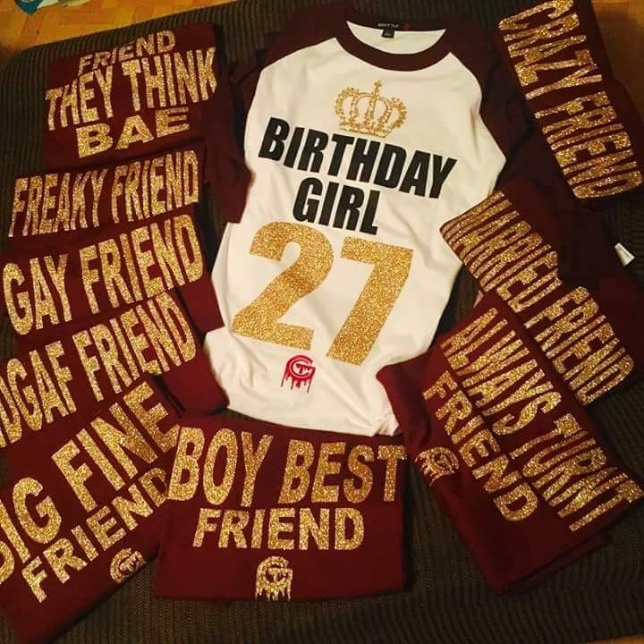 Birthday Squad Squad Goals Birthday Birthday Squad