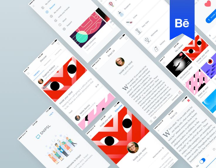 """Check out this @Behance project: """"Snipsl Mobile App"""" https://www.behance.net/gallery/41141991/Snipsl-Mobile-App"""