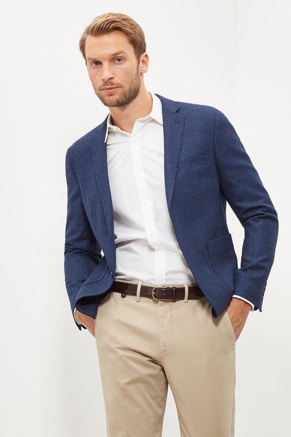 Cortefiel Americana tailored fit Azul