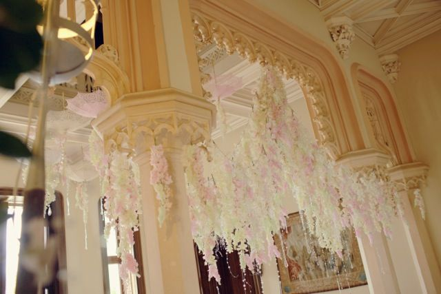 France Chateau Challain Floral designs