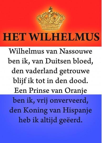 In 1568 brak de Tachtigjarige Oorlog uit (1568-1648), een geloofsoorlog tussen de (Spaanse) katholieken en de (Nederlandse) protestanten. De felle strijd met de Spanjaarden ontwrichtte het culturele leven, maar leverde ook een nieuwe vorm van literatuur op: de strijdliederen/geuzenliederen. Het bekendste en meest gezongen geuzenlied was het 'Wilhelmus', een loflied op aanvoerder Willem van Oranje. Sinds 1932 is dit lied het officiële volkslied van Nederland.