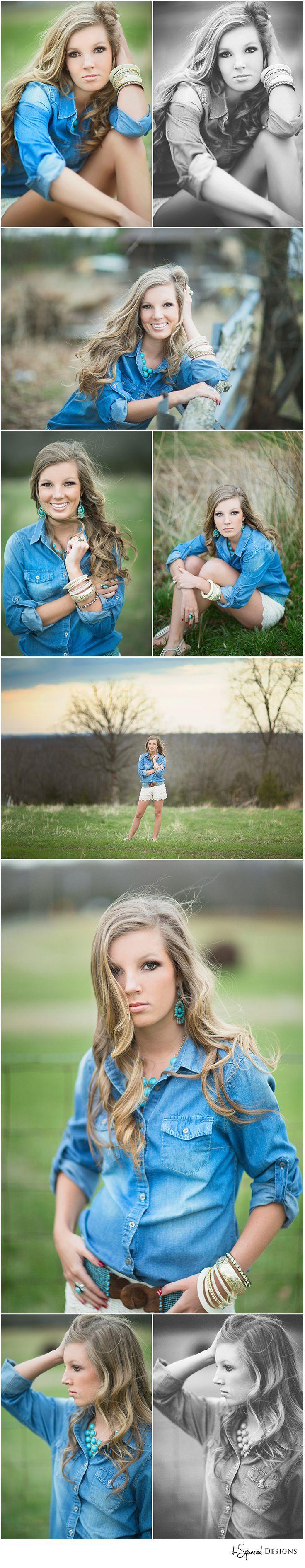 d-Squared Designs Southeast Missouri Senior Photography. Senior girl session. Senior girl posing. Gorgeous senior girl. Denim outfit.
