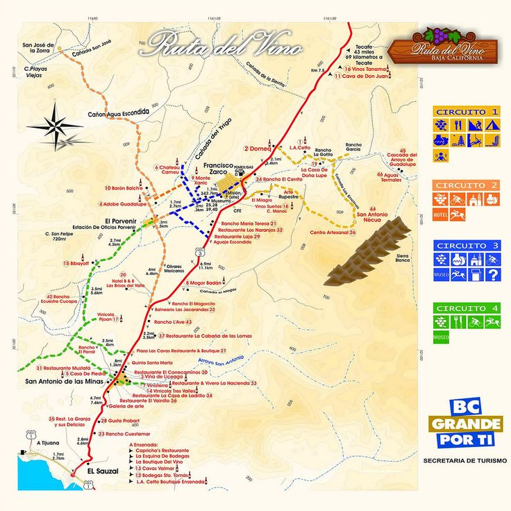 map_Wine_Route | Flickr - Photo Sharing!