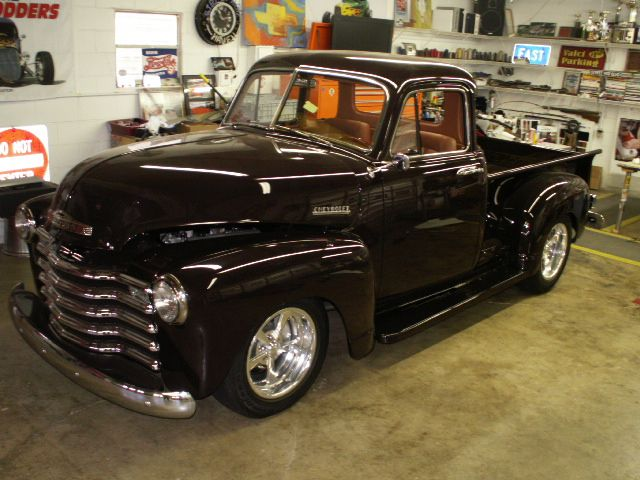 1953 Chevy Truck Custom Leather Interior. Interiors by Shannon.com (Upholstery)