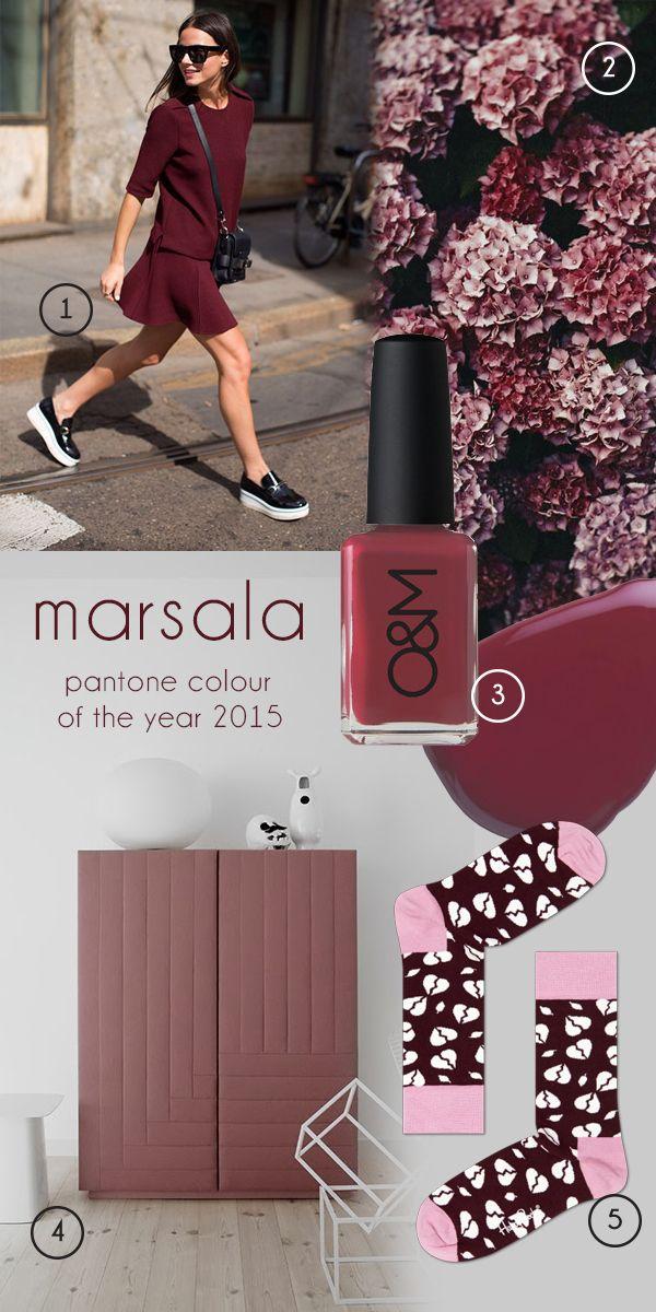 colourBLEND Marsala / The designBLEND