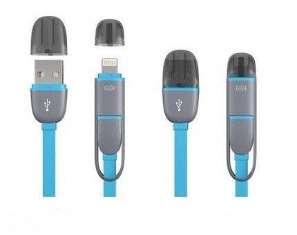 2-in-1 IPhone And Android USB Cable!