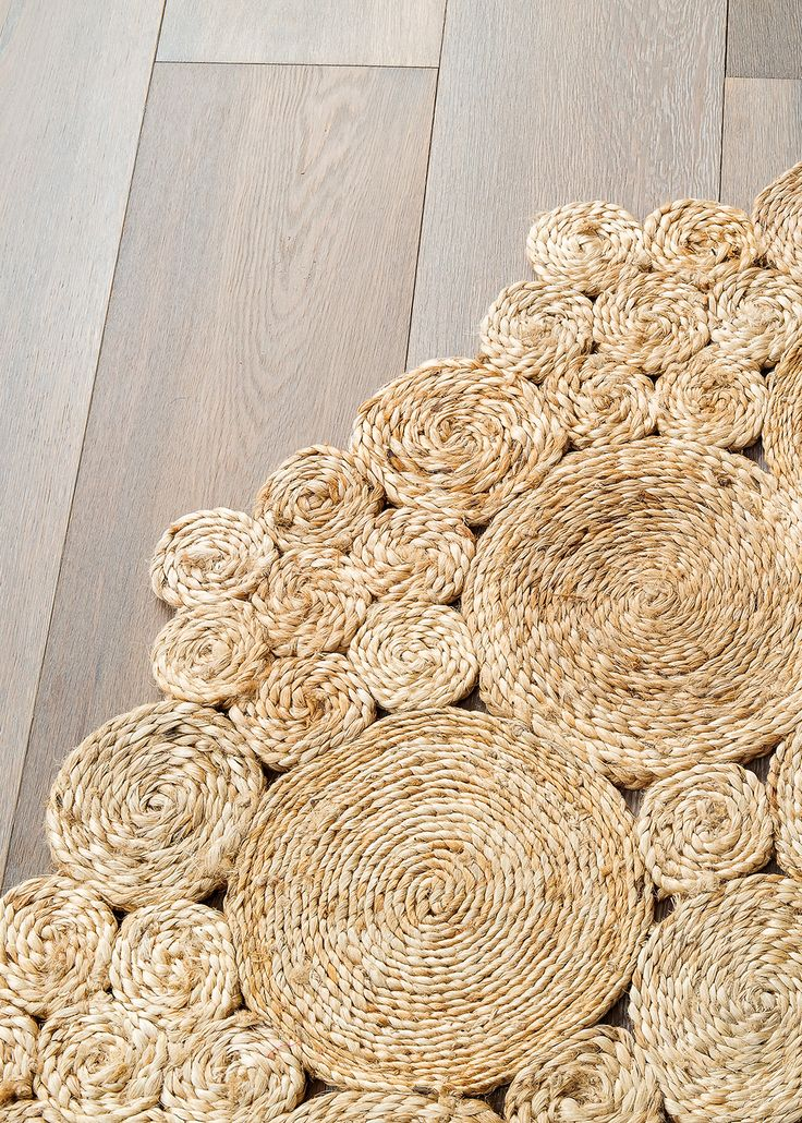 Our Geranium rug - hand-braided and stitched | See more at www.armadillo-co.com