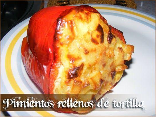 Los propoints De Soul: Pimientos rellenos de tortilla